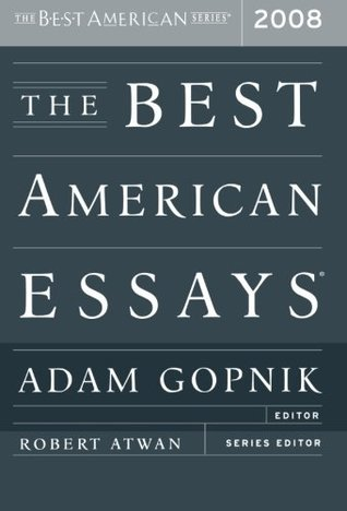 The Best American Essays 2008 (2008)