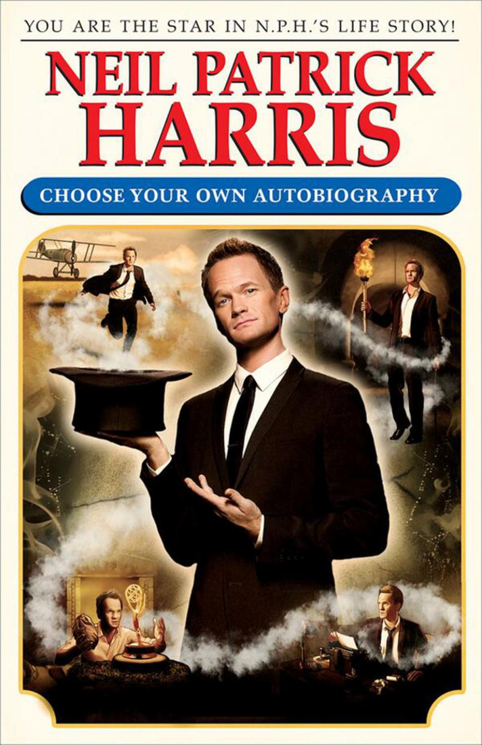 Image result for neil patrick harris choose your own autobio