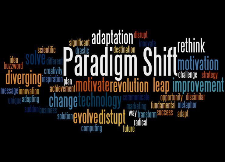 Paradigm Shift, Word Cloud Concept 7