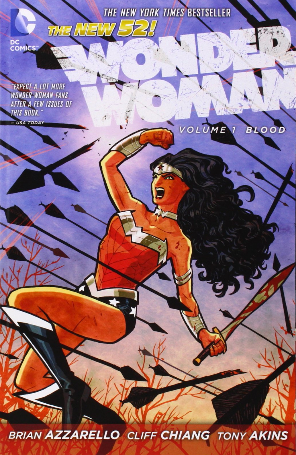 Image result for Wonder Woman, Volume 1: Blood