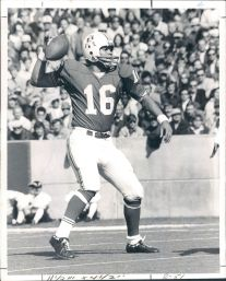 Jim Plunkett in the Pocket