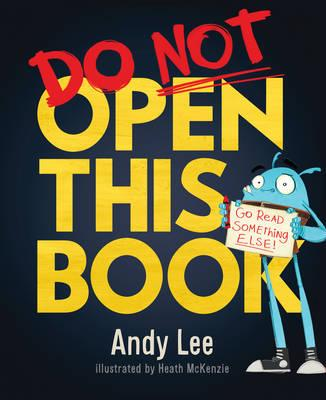 Image result for do not open this book andy lee