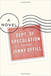 Cover for Dept. of Speculation
