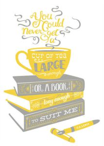 tea n book quote
