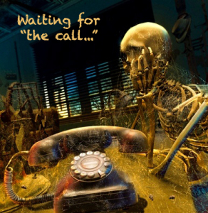 Image result for waiting for a call