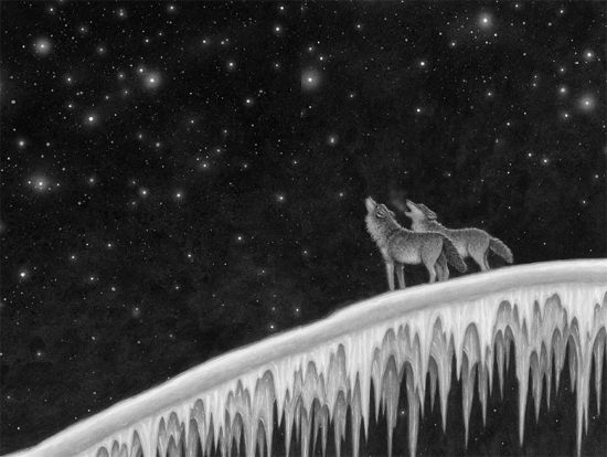 star wolf book illustration