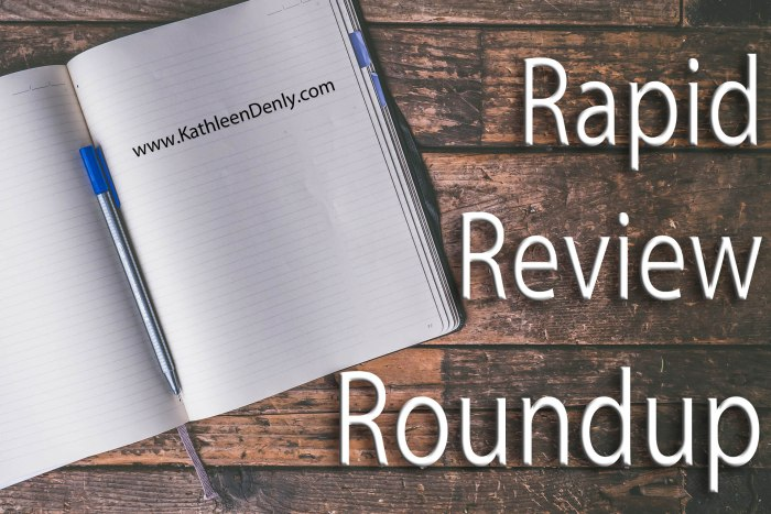 Rapid Review Roundup - Blog Header Image