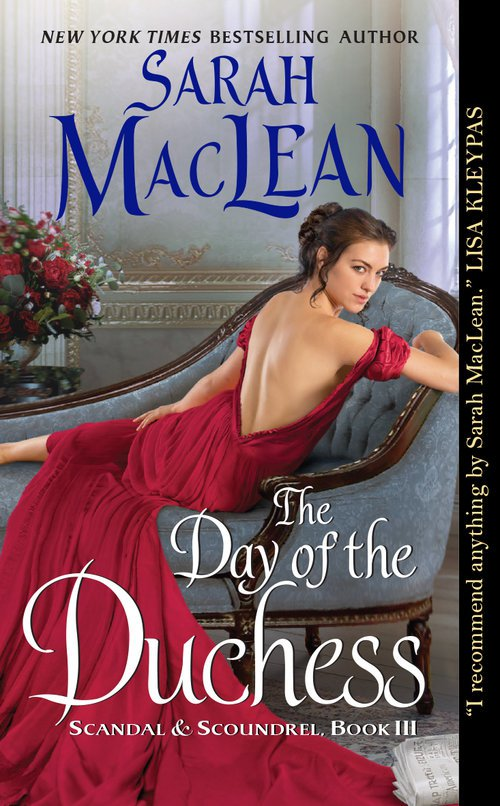 The Day of the Duchess (Scandal & Scoundrel #3) by Sarah MacLean US American Cover
