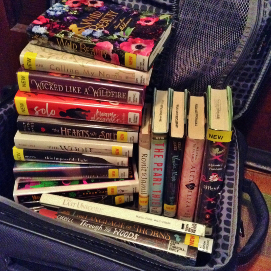Case Full of Books