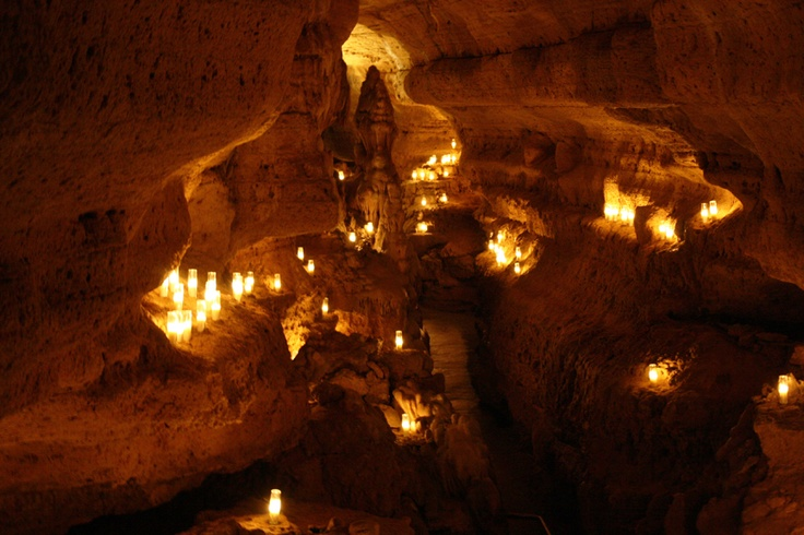 Image result for cave with candles