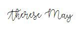 Therese May Signature