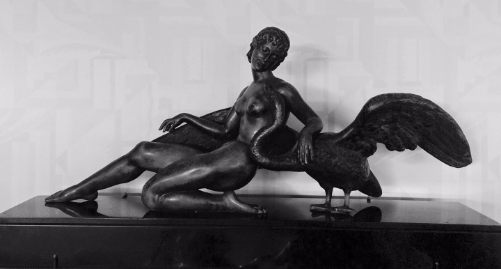 Leda and the Swan, c. 1930, France, by Neva