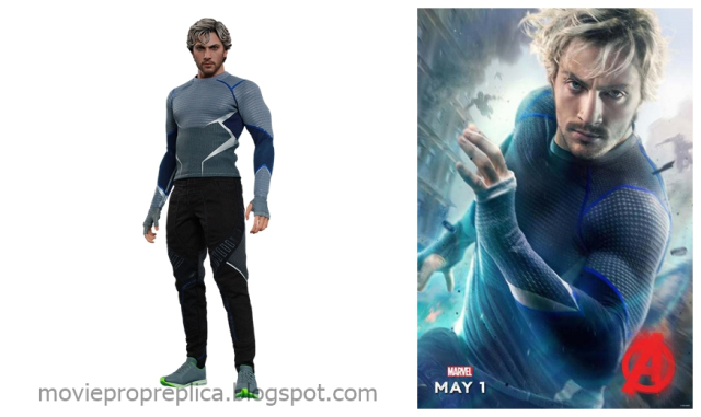 Aaron Taylor-Johnson as Pietro Maximoff - Quicksilver Avengers Age of Ultron Movie Collectible Figure