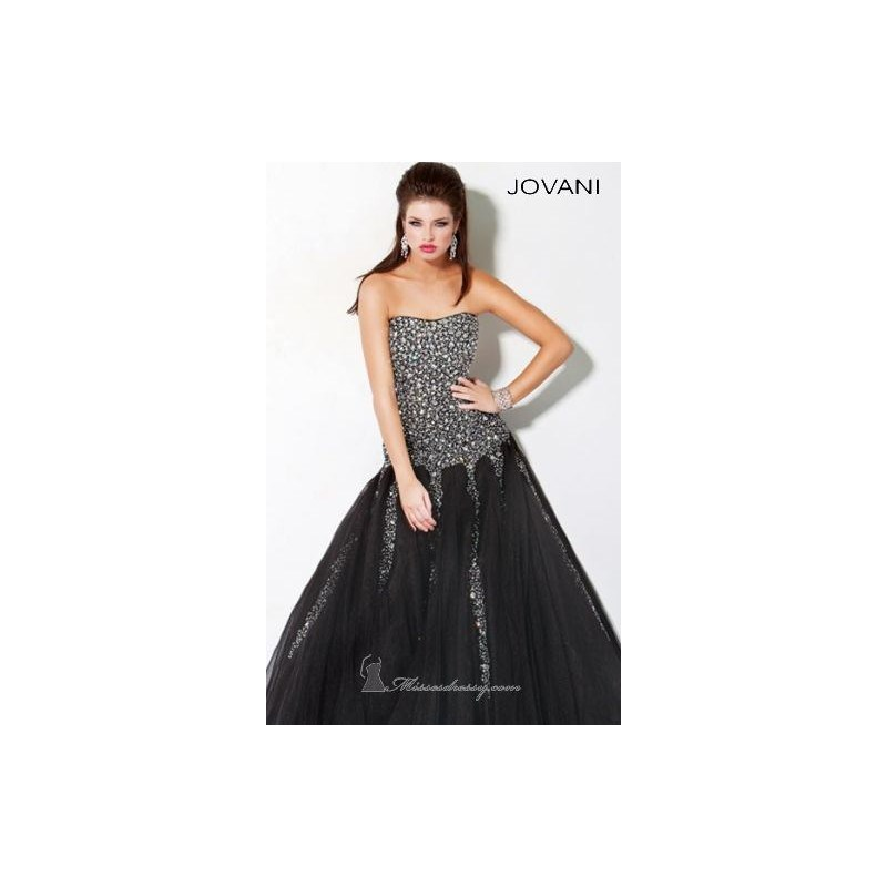 Classical Cheap Strapless Ball Gown by Jovani Evening 3361 Dress New Arrival 0