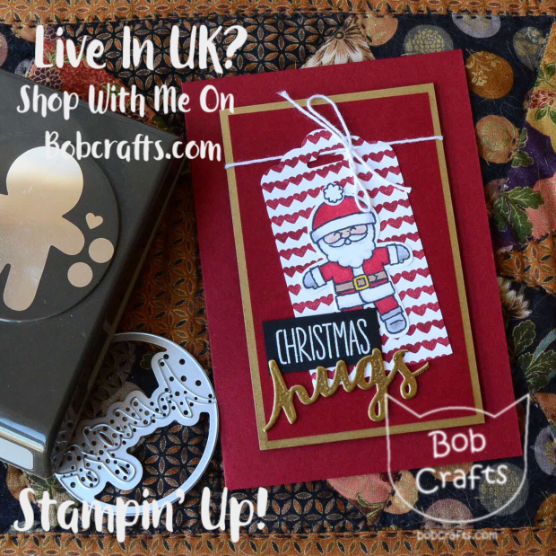 stampin up cookie cutter christmas card