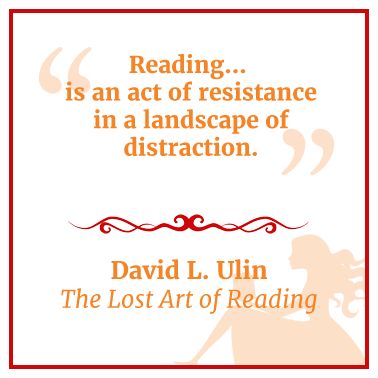 Quote from The Lost Art of Reading by David L. Ulin
