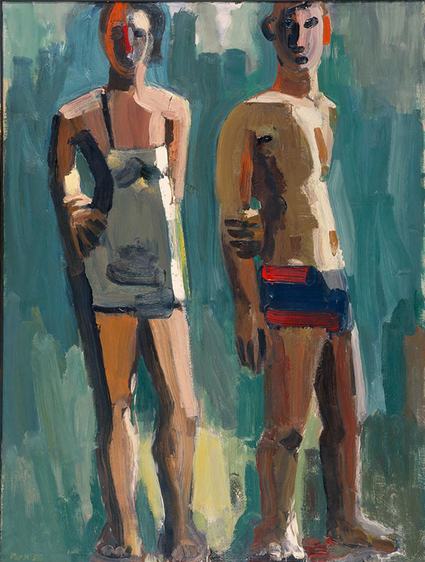 Standing Couple by David Park