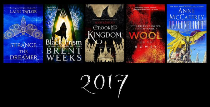 Image: Covers of Favourites Books Read in 2017