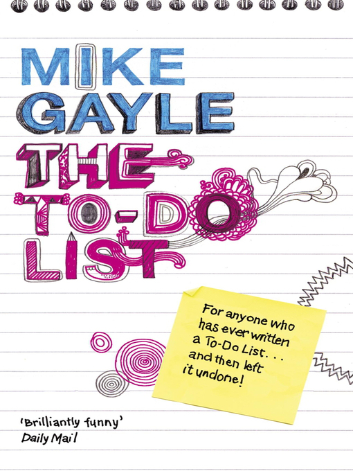 Image result for the to do list mike gayle
