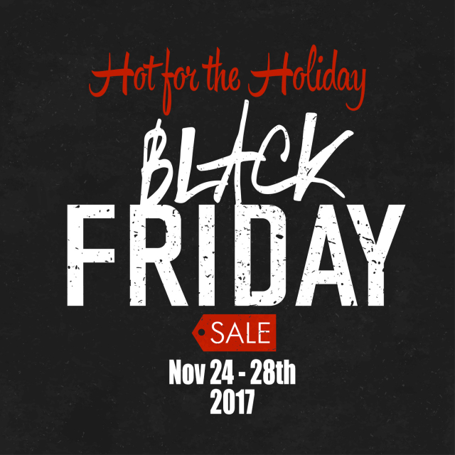 Black Friday sales Advertising Poster on Blackboard Texture