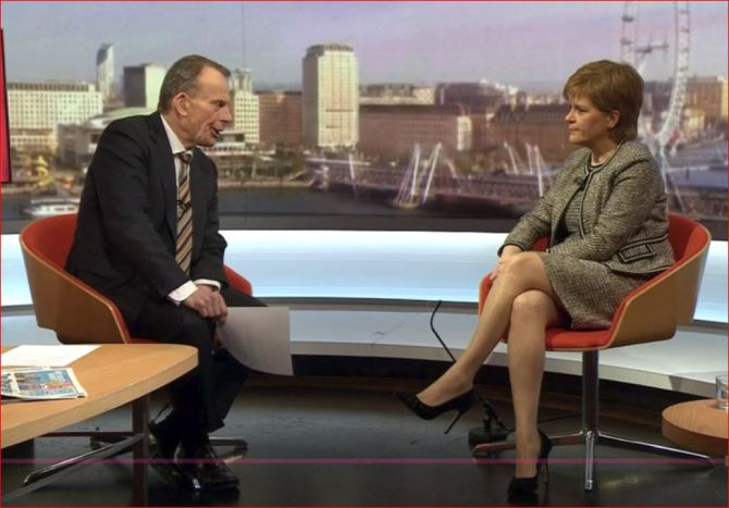 Sturgeon on Marr show