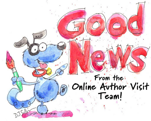 Good News from the Online Author Visits Team!