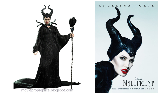 Angelina Jolie as Maleficent in Maleficent Movie Collectible Figure