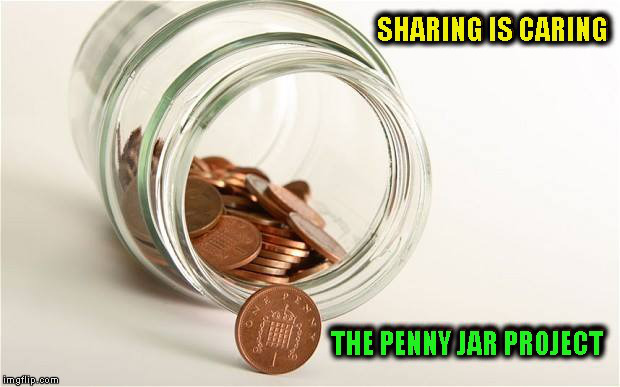 The Penny Jar Project Tea and cake for the soul