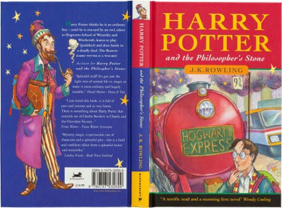 J K Rowling, Harry Potter and the Philosopher's Stone