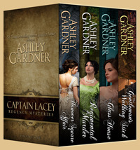 Captain Lacey Regency Mysteries Volume One (2012)
