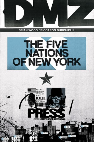 DMZ, Vol. 12: The Five Nations of New York (2012)
