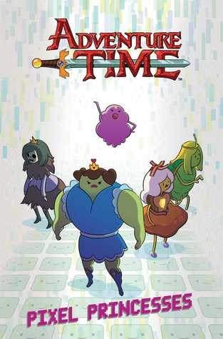 Adventure Time Vol. 2 Pixel Princesses Original Graphic Novel (2013)