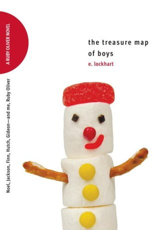 The Treasure Map of Boys: Noel, Jackson, Finn, Hutch, Gideon—and me, Ruby Oliver (2009)