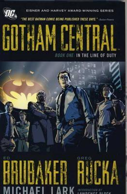 Gotham Central Deluxe Edition, Book 1: In the Line of Duty