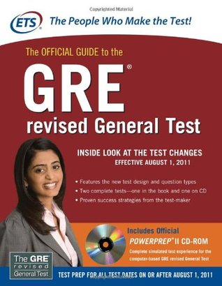 The Official Guide to the GRE revised General Test (2010)