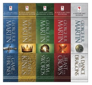 A Song of Ice and Fire, 5-Book Boxed Set: A Game of Thrones, A Clash of Kings, A Storm of Swords, A Feast for Crows, A Dance with Dragons (2000)