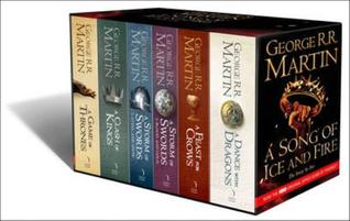 A Song of Ice and Fire, 6 volumes: A Game of Thrones/A Clash of Kings/A Storm of Swords; Steel and Snow/A Storm of Swords: Blood and Gold/A Feast for Crows/A Dance with Dragons (2000)