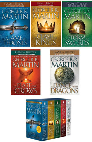 A Song of Ice and Fire series: 5-Book Boxed Set (2000)