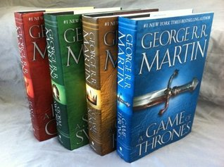 SONG OF ICE AND FIRE Set George R. R. Martin: Song of Ice and Fire series 4-Volume set (2000)