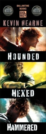 The Iron Druid Chronicles Bundle: Hounded, Hexed, Hammered (2012)