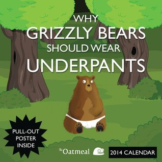 Why Grizzly Bears Should Wear Underpants 2014 Wall Calendar (2013)