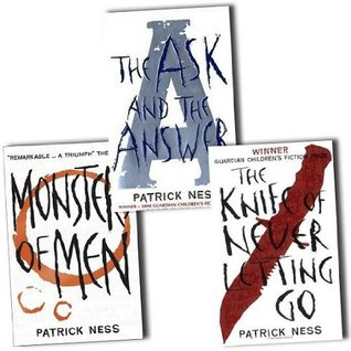 Patrick Ness Trilogy Collection: The Knife Of Never Letting Go The Ask And