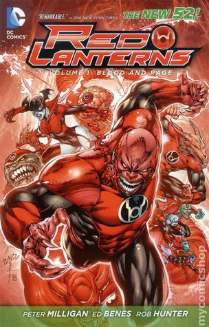 Red Lanterns, Vol. 1: Blood and Rage (2012)