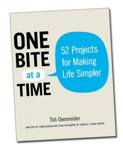 One Bite at a Time: 52 Projects for Making Life Simpler (2000)