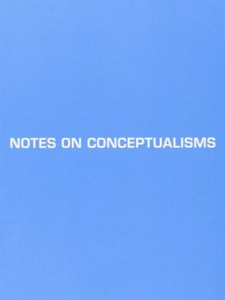 Notes on Conceptualisms (2009)